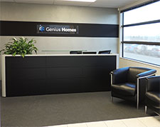 The Genius Homes front office contact us today.