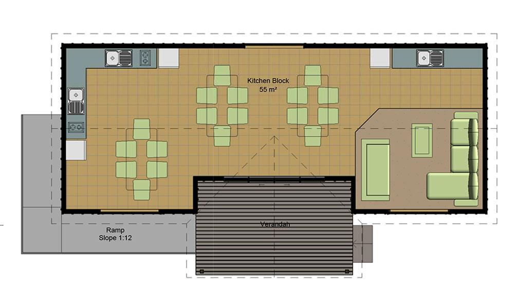 Kitchen Building floorplan