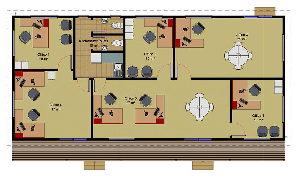 Large Office floorplan