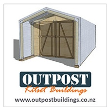 Outpost Sheds Ad