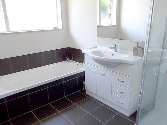 prefab home bathroom design options