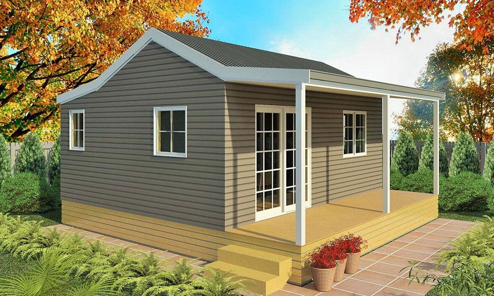 Genius 1 Bedroom Homes | Prefabricated Cabins