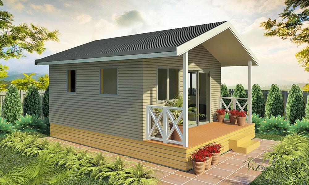 Horizon 1 bedroom holiday accommodation kitset