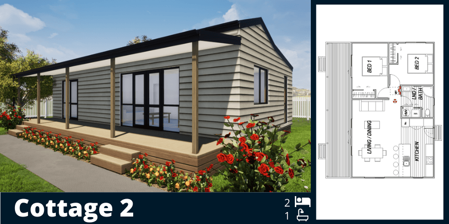 Transportable homes for narrow access