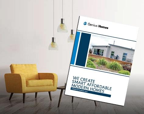 Genius Homes 2017 brochure