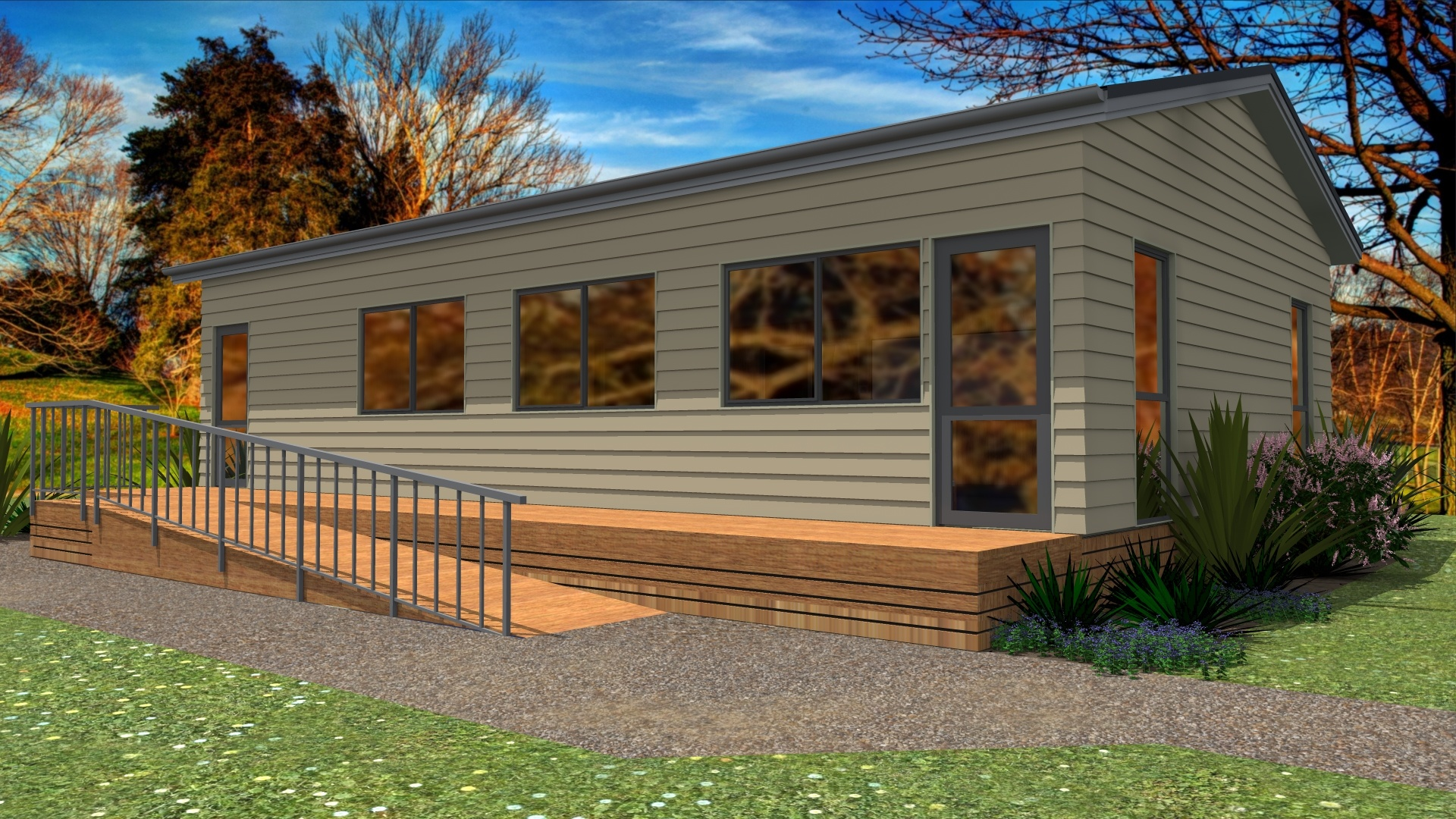 Commercial prefabricated classroom