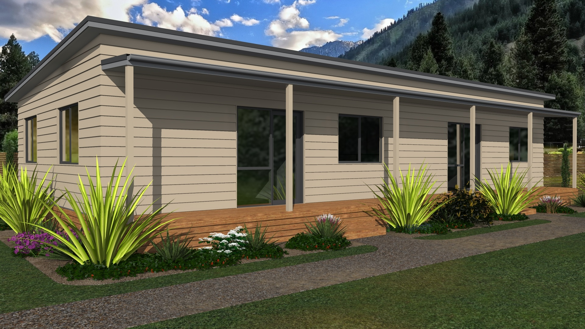 Prefabricated commercial office building