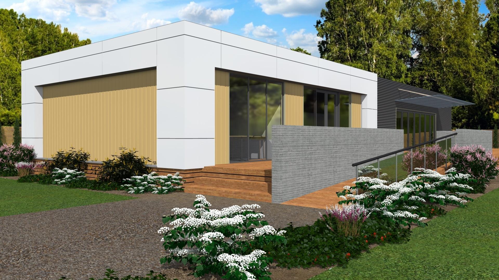 modern prefabricated office