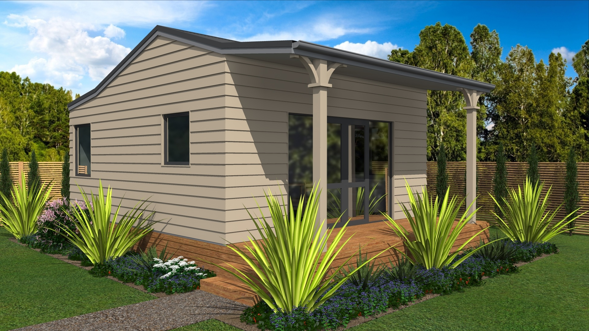 Prefabricated cottage for sale