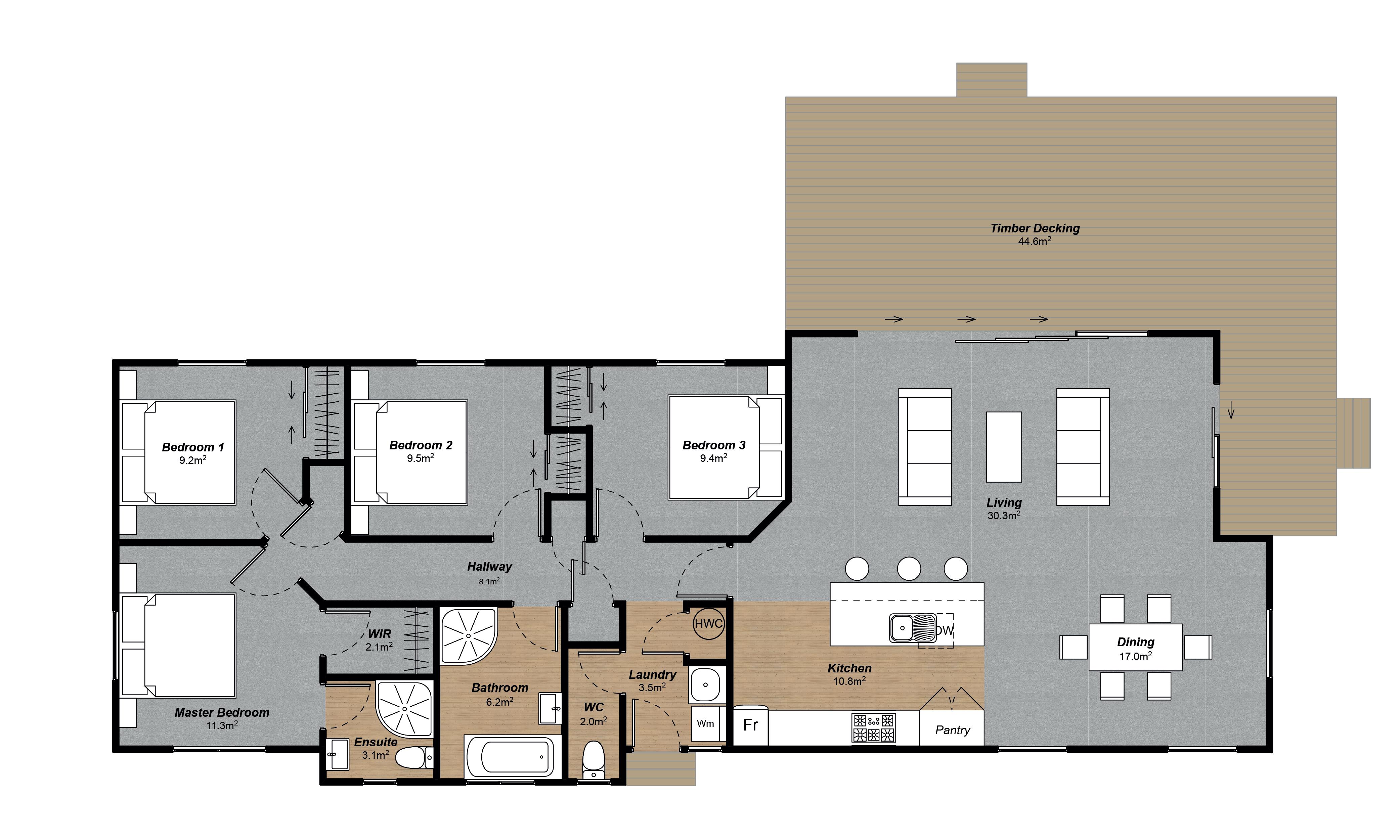 Hillcrest Floorplan