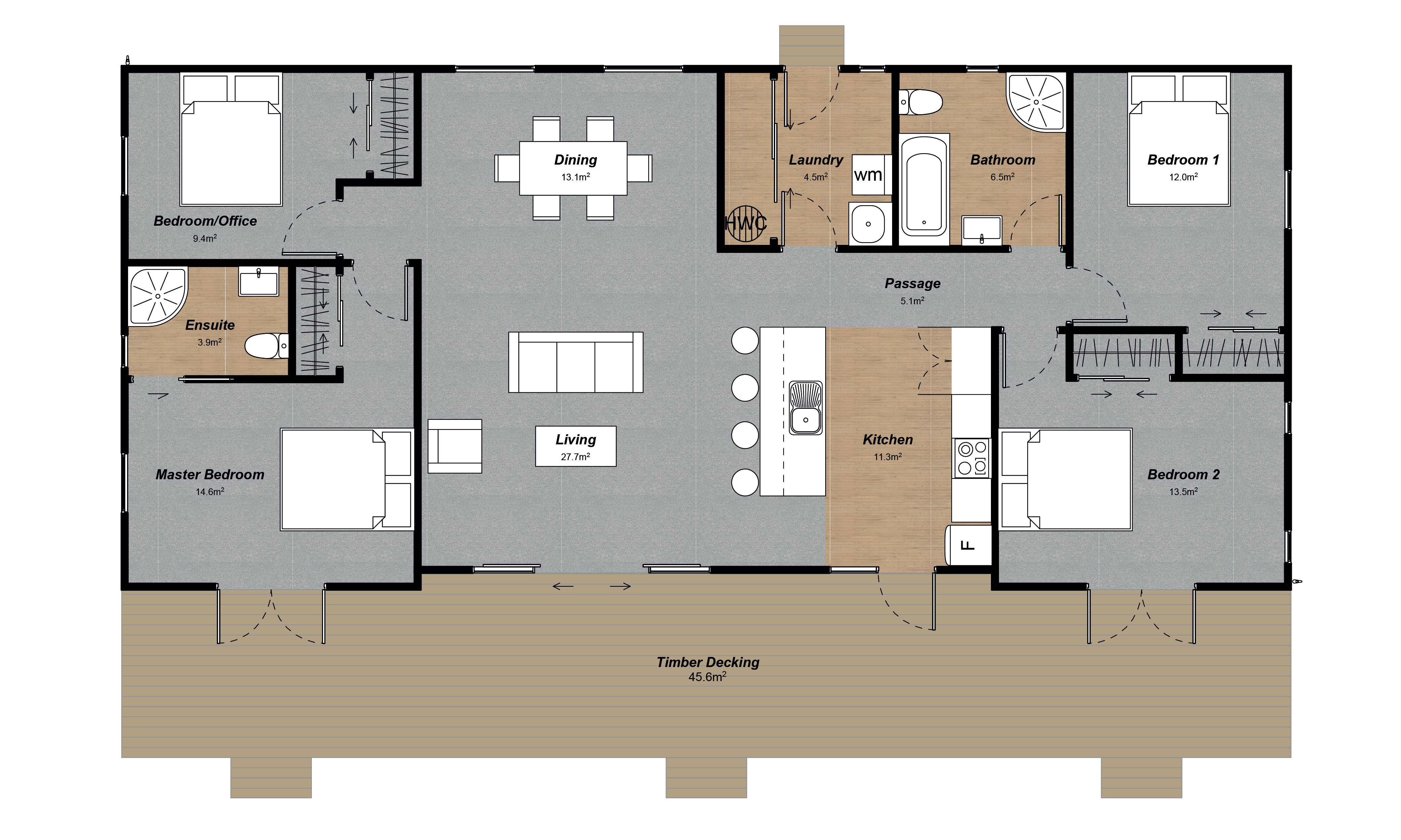 Huxley Floorplan