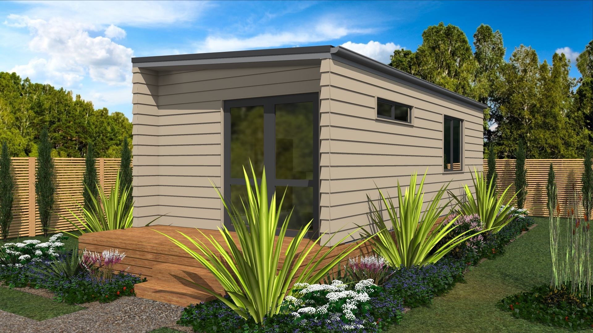 Kiwi 1 bedroom prefabricated