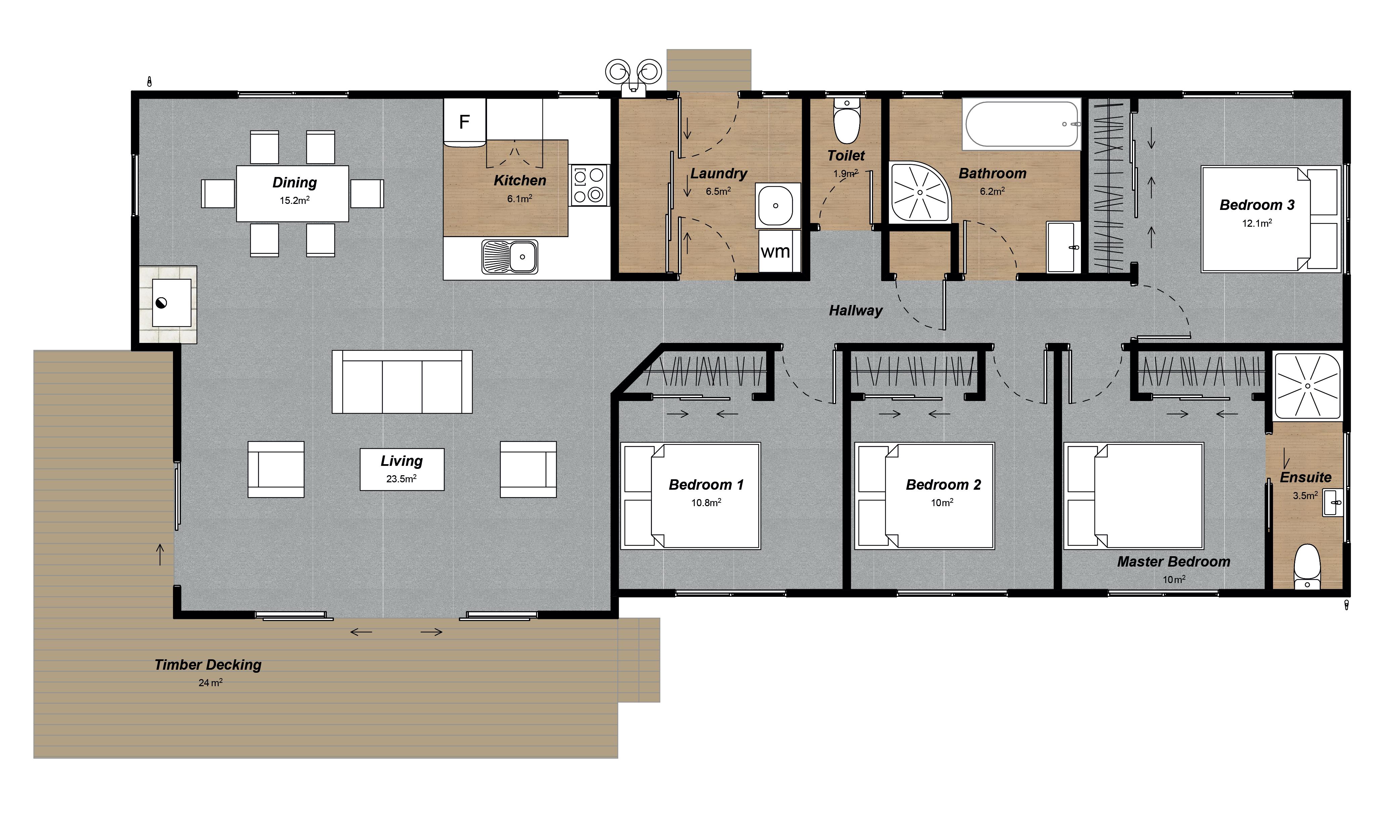 Sumner 4 bedroom design