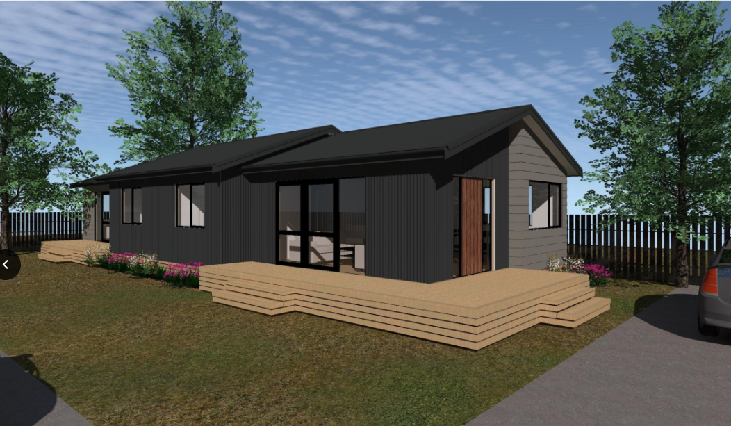 3 bedroom prefab with self contained unit
