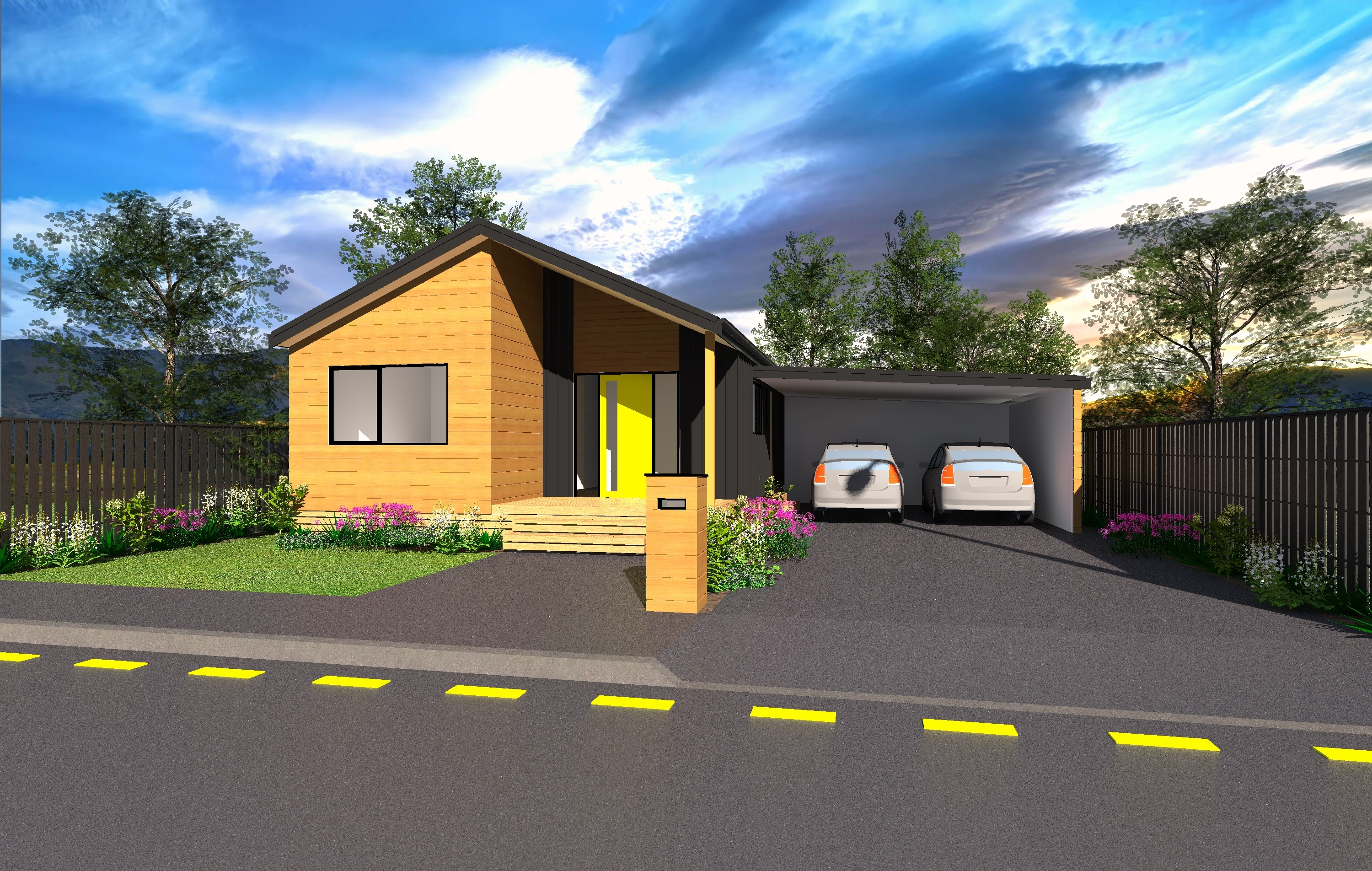 Wakatipu 3 bedroom home with ensuite