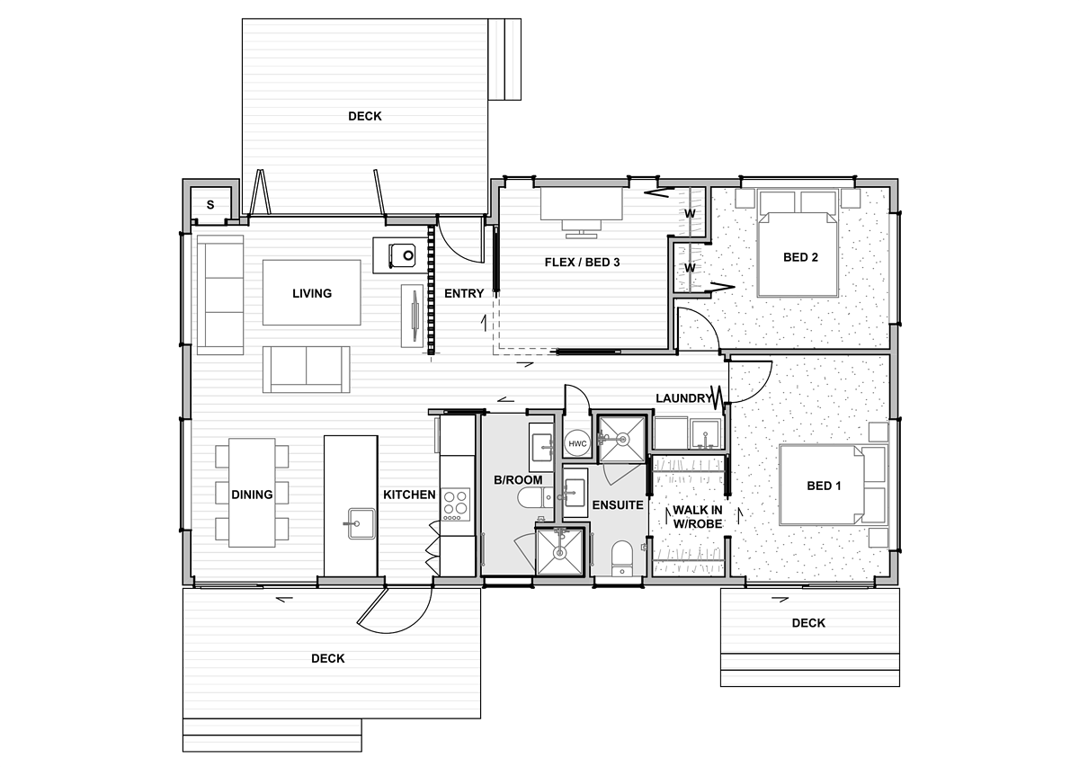 Flex 90 Floor Plan