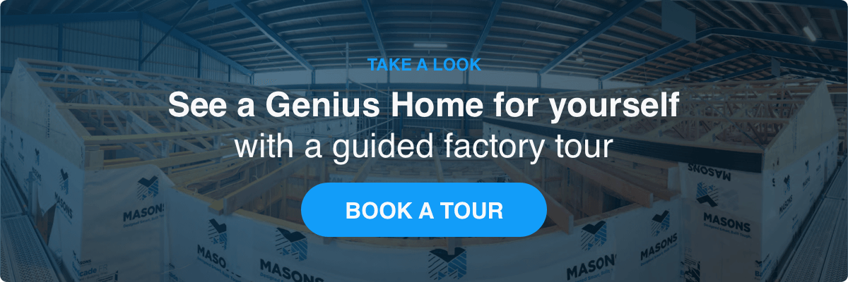 Book a guided tour with Genius Homes!