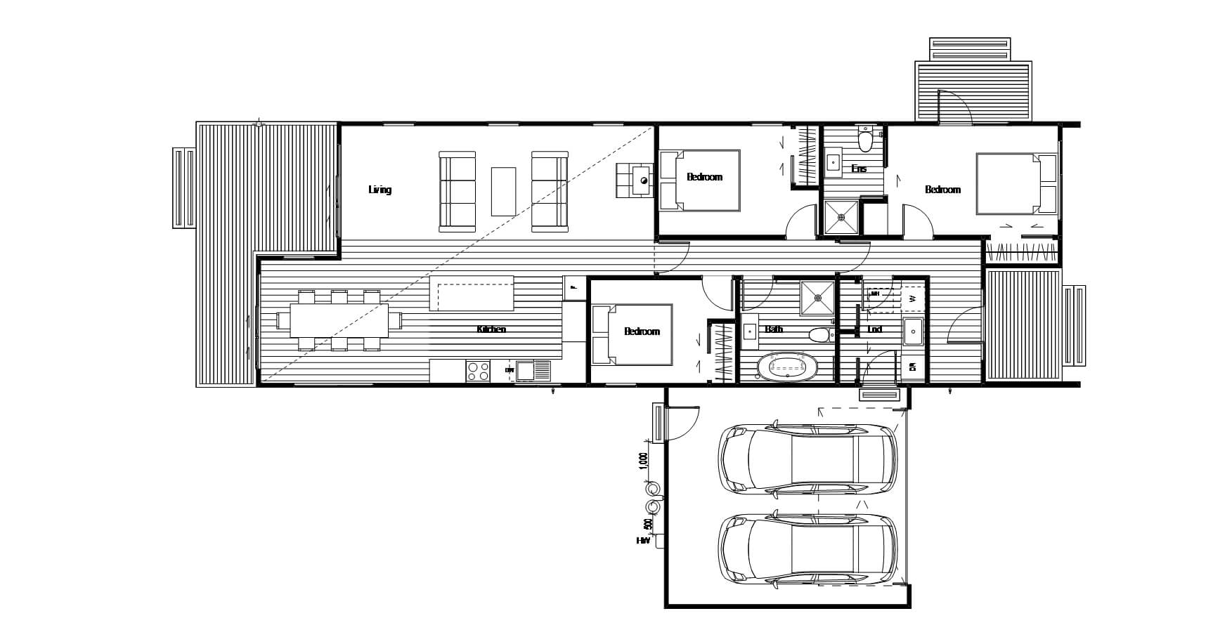House designs for a second income or rental