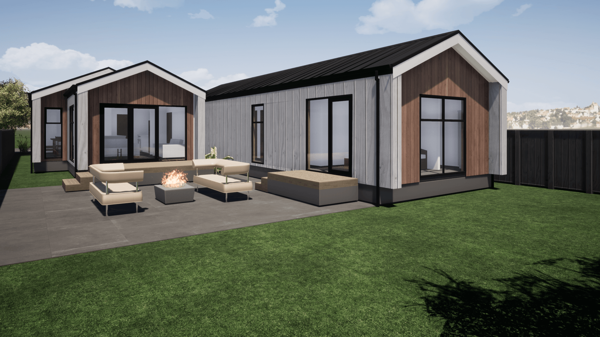 Three bedroom modern home design for sale New Zealand