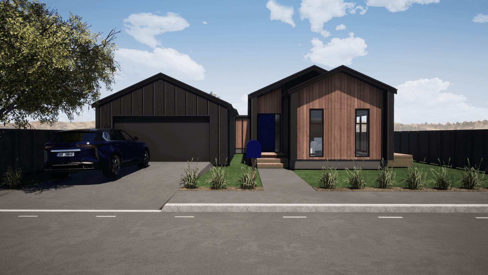 Waitaki 3 bedroom spacious modern prefab home
